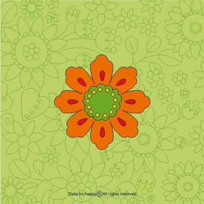 מתנת תודה, מתנה ליולדת,מתנות קטנות, מתנות לחברה הכי טובה, דליה ברנובר, משפטי תודה, אהבה, ירוק, פרח, כתום