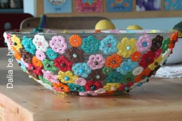 יצירה: קערת פרחים